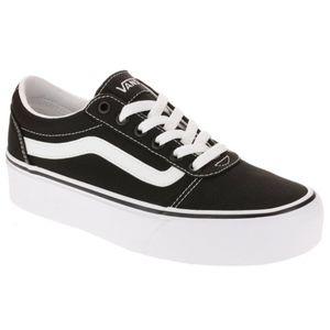 🆕 Vans Classic Canvas Platform Shoes Sz 9
